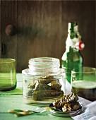 Klassische Dolmades (Gefüllte Weinblätter, Griechenland)
