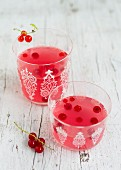 Fruity redcurrant punch