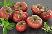 Black Russian tomatoes
