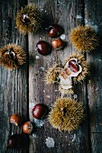 Chestnuts and hazelnuts