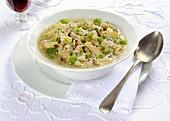 Minestra di trippa (Italian tripe soup)