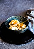 Miso-Butterscotch-Eiscreme