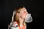 Popping Bubblegum Bubble