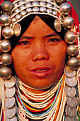 Woman of the Akha Hill tribe. Thailand