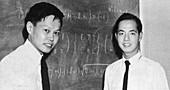 C.N. Yang and Tsung-Dao Lee