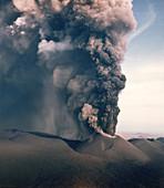 Tolbachik Volcano Eruption