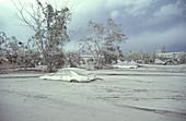Clark Air Base after Pinatubo Eruption