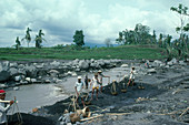 River Cleaning,Post-Eruption