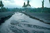 Mt. Galunggung Eruption Aftermath