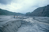 Mount Pinatubo pyroclastic flow
