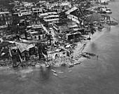 Hurricane Flora Aftermath,Haiti,1963