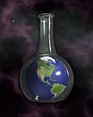 Earth In A Beaker