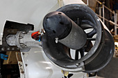 Thruster on a Deep Sea Submarine
