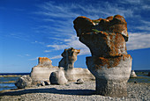 Monoliths Formed by Erosion,Canada