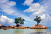 Islands and Clouds,the Seychelles