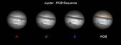 Jupiter RGB Sequence