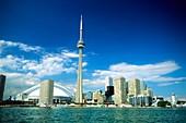City skyline of Toronto,Canada