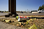 Empty Inhalant Containers in Street