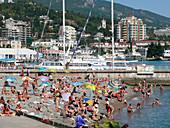 Beach at Yalta,Ukraine
