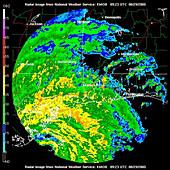 Hurricane Katrina,WFO Radar,2005