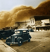 Dust Bowl of the 1930's,Elkhart,Kansas