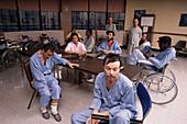 AIDS Patients at Hospital