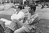 Cigars After Lunch,Bryant Park,NYC