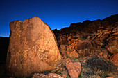 Petroglyphs,Great Basin,California