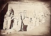 Abu Simbel Temple,1870