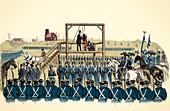 Execution of John Brown,1859