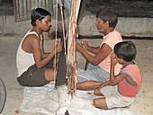 Weaving,India