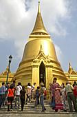 Phra Sri Ratana Chedi temple,Thailand