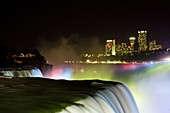 Niagara Falls at Night,Canada