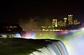 Niagara Falls at Night,Canada