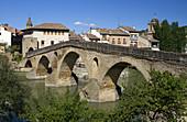 Six-Arched Roman Bridge,Spain