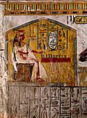 Relief of Nefertari Playing Chess