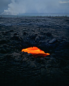 Lava Tube,Kilauea Volcano,Hawaii