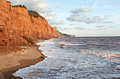 East Cliffs at Sidmouth,England