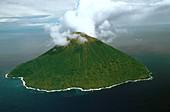Solomon Islands,Tinakula Volcano