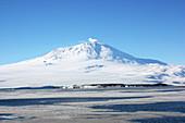 Mount Erebus Eruption,Antarctica