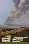 EyjafJallajokull Volcano Ash