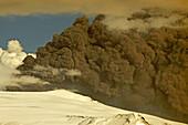 Eyjafjallajokull Volcano Ash Blast