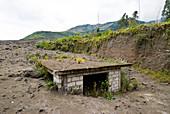 Building Under Volcanic Ash,Ecuador