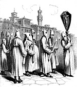19th Century Italian penitents