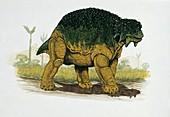 Dinosaur in a forest,illustration