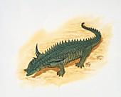 Desmatosuchus,illustration