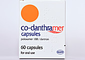 Co-danthramer laxative drug
