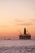 Oil rig,South Africa