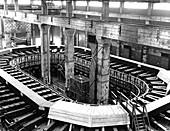 Calutron uranium enrichment,1940s