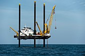 Chicxulub Crater research drilling boat